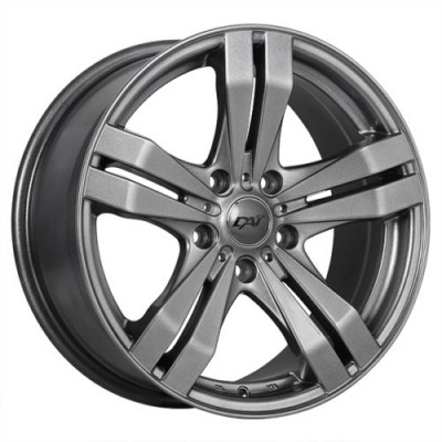 Dai Alloys Target Gun Metal wheel (15X6.5, 5x114.3, 73.1, 40 offset)