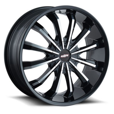 DIP FUSION D40 Gloss Black wheel (18X7.5, 4x100/114.3, 67.1, 40 offset)