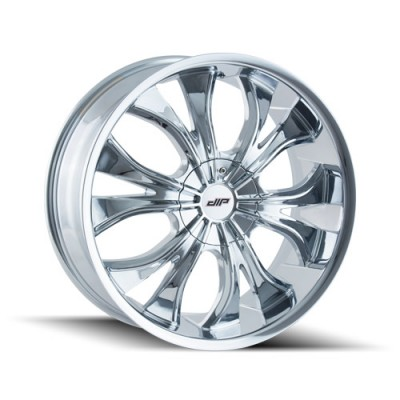 DIP HUSTLER D42 Chrome wheel (22X9.5, 5x115/120, 74.1, 18 offset)