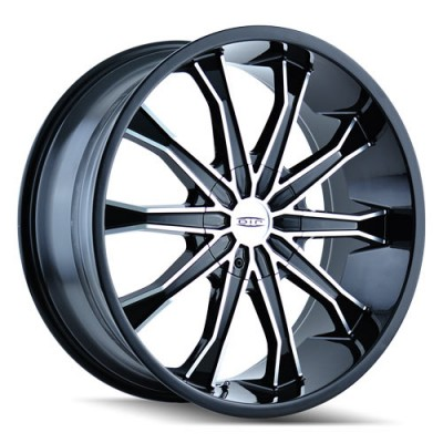 DIP MORTAR D99 Matt Black Machine wheel (20X8.5, 6x132/139.7, 108, 30 offset)