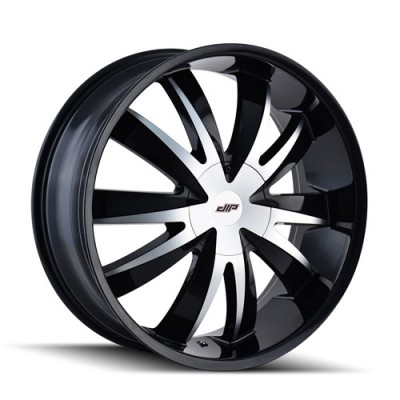 Dip EDGE Gloss Black Machine wheel (22X8.5, 5x112/120, 72.56, 35 offset)