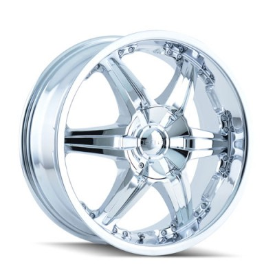 Dip WICKED Chrome wheel (24X9.5, 5x115/127, 78.3, 18 offset)
