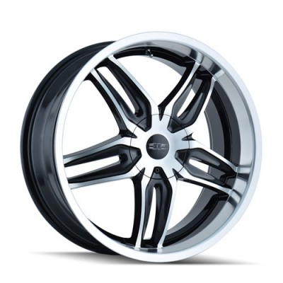 Dip D63 Bionic Machine Black wheel (18X7.5, 4x100/114.3, 67.1, 40 offset)