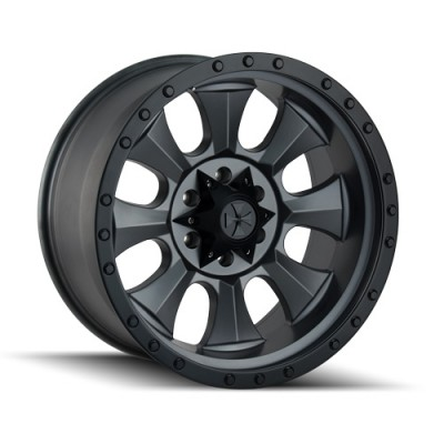 Dirty Life IRONMAN Matte Black wheel (20X10, 8x170, 130.8, -19 offset)