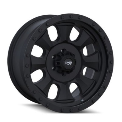 Dirty Life IRONMAN Matte Black wheel (14X7, 4x156, 131.1, 13 offset)