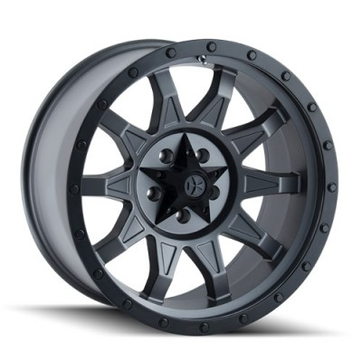 Dirty Life ROADKILL Matte Gun Metal wheel (14X7, 4x110, 79.4, 13 offset)