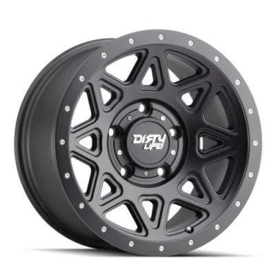 Dirty Life THEORY Matte Black wheel (17X9, 6x135, 87.1, -12 offset)