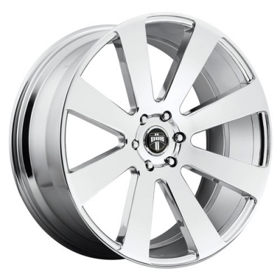 DUB 8 Ball S131 Chrome wheel (24X10, 5x120, 72.6, 12 offset)