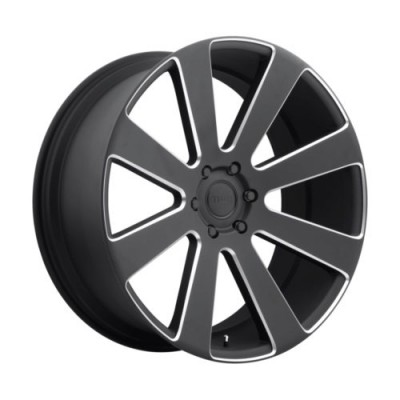 DUB 8 Ball S187 Machine Black wheel (22X9.5, 6x139.7, 78.1, 30 offset)