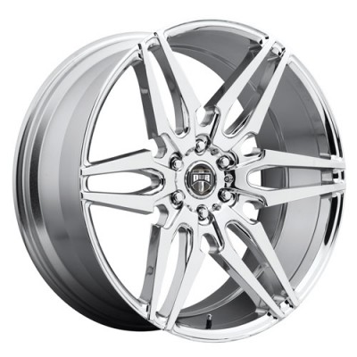 DUB Attack S210 Chrome wheel (22X9.5, 6x139.7, 78.1, 30 offset)
