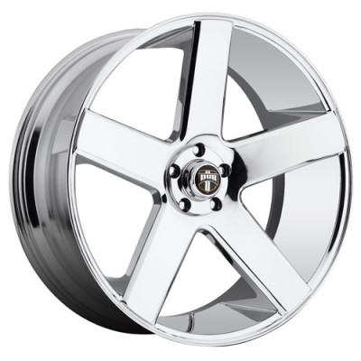 DUB Baller Dc S115 Chrome wheel (24X10, 5x127, 78.1, 20 offset)