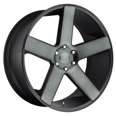 DUB Baller S116 Machine Black wheel (20X9.5, 6x139.7, 78.1, 30 offset)