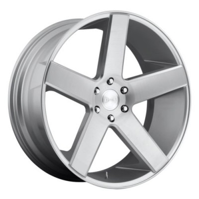 DUB Baller S218 Machine Silver wheel (22X9.5, 5x127, 78.1, 11 offset)