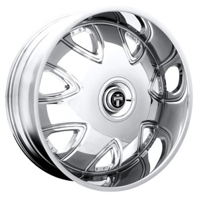 DUB Bandito S136 Chrome wheel (30X10, 5x115/120.7, 72.6, 15 offset)