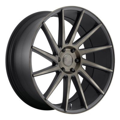 DUB Chedda S128 Machine Black wheel (22X9.5, 6x139.7, 78.1, 30 offset)