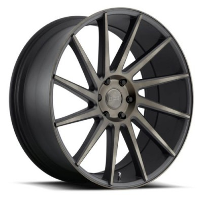 DUB Chedda S128 Matt Black Machine wheel (22X9.5, 6x139.7, 100.3, 30 offset)
