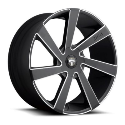 DUB Directa S133 Machine Black wheel (20X8.5, 5x110/115, 72.6, 45 offset)