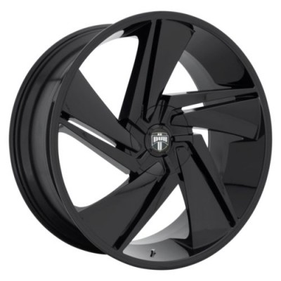 DUB FADE Gloss Black wheel (22.00X9.50, 5x150.00, 110.1, 35 offset)