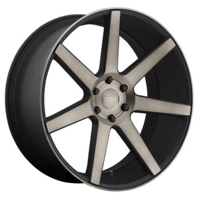 DUB Future S127 Machine Black wheel (22X9.5, 6x139.7, 78.1, 30 offset)