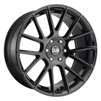 DUB LUXE S205 Gloss Black wheel (20X9, 5x139.7, 78.1, 25 offset)