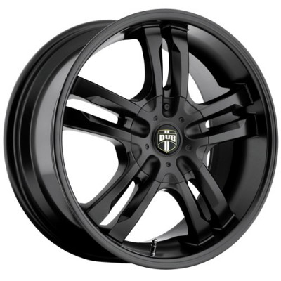 DUB Phase S106 Matte Black wheel (18X8, 5x108/114.3, 72.6, 40 offset)