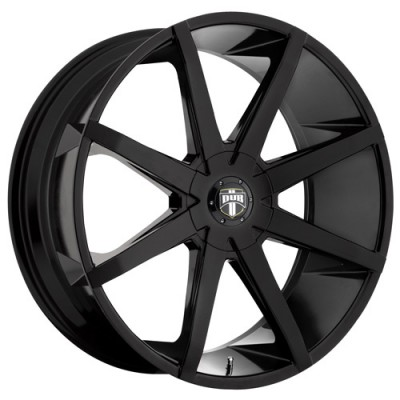 DUB PushTr S110 Gloss Black wheel (20X8.5, 5x114.3/127, 72.6, 30 offset)