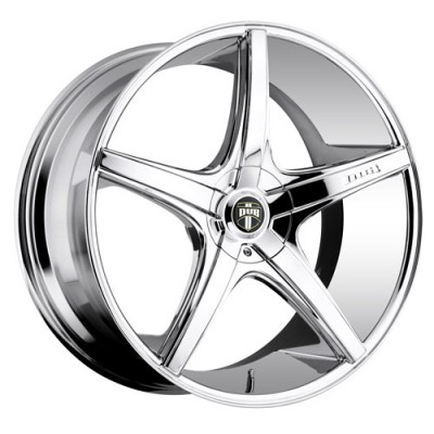 DUB Rio 5 S112 Chrome wheel (18X8, 5x115/120.7, 72.6, 30 offset)