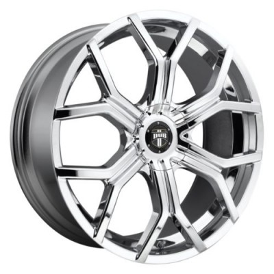DUB Royalty S207 Chrome wheel (22X9.5, 6x132, 74.8, 35 offset)