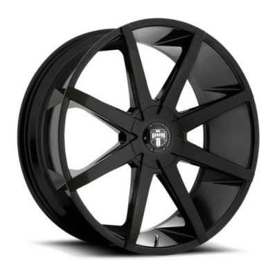 DUB S110 Gloss Black wheel (20X8.5, 6x135, 87.1, 25 offset)