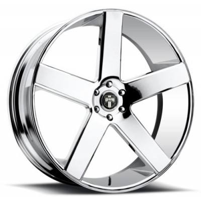 DUB S115 Chrome wheel (22X9.5, 6x139.7, 106.1, 19 offset)