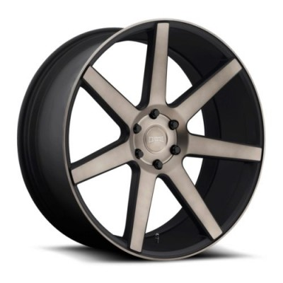DUB S127 Matte Black wheel (24X10, 6x139.7, 106.1, 20 offset)