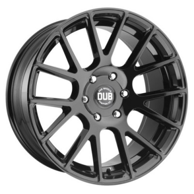 DUB S205 LUXE Gloss Black wheel (22X9.5, 6x139.70, 78.1, 20 offset)