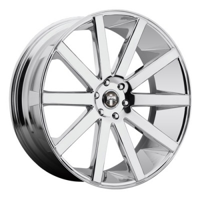 DUB Shot Calla S120 Chrome wheel (22X10.5, 5x120, 72.6, 40 offset)
