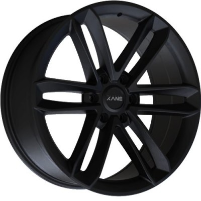 Envy Wheels Apollo Q Satin Black wheel (18X8, 6x135, 87.10, 25 offset)