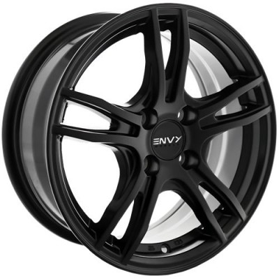 Envy Wheels EV-5 Satin Black wheel (15X6.5, 4x100, 56.1, 38 offset)