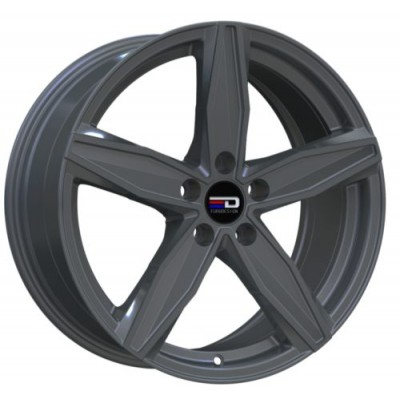 Euro Design Berlin Matte Gun Metal wheel (16X7.0, 5x100, 56.1, 40 offset)