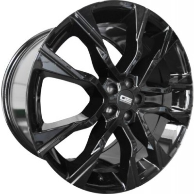 Euro Design RR-9 Gloss Black wheel (20X9, 5x108, 63.4, 40 offset)