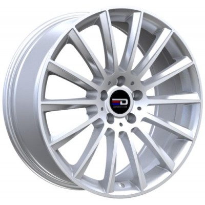 Euro Design Sacco Silver wheel (18X7.5, 5x112, 66.6, 30 offset)
