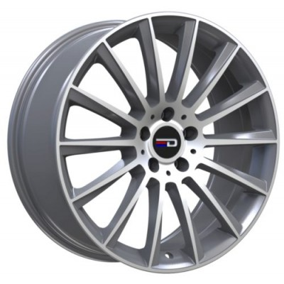 Euro Design Sacco Machine Gunmetal wheel (19X8, 5x112, 66.6, 30 offset)