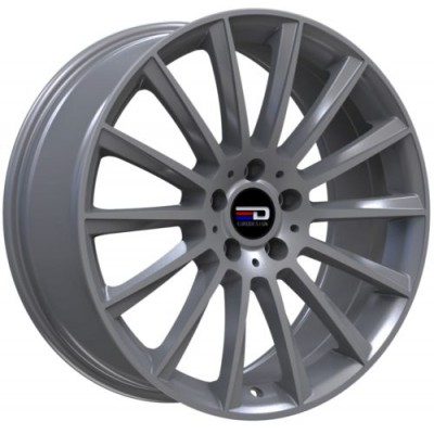Euro Design Sacco Matte Gun Metal wheel (18X7.5, 5x112, 66.6, 30 offset)