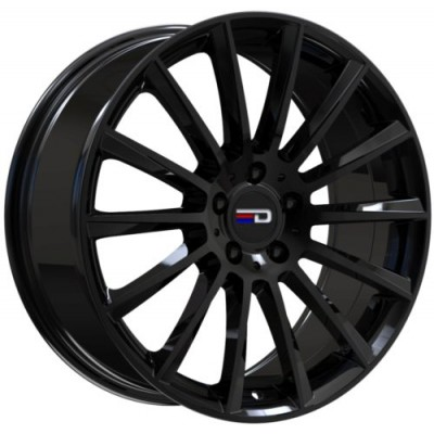 Euro Design Sacco Gloss Black wheel (18X7.5, 5x112, 66.6, 30 offset)