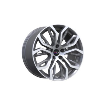Euro Design Tillman Machine Gunmetal wheel (20X11.0, 5x120, 74.1, 37 offset)