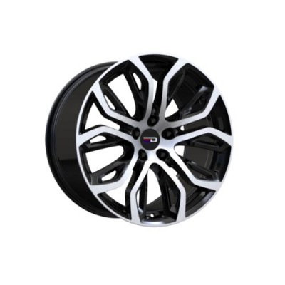 Euro Design Tillman Gloss Black Machine wheel (20X11.0, 5x120, 74.1, 37 offset)