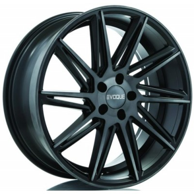 Evoque Meridian Satin Black wheel (19X8, 5x114.3, 70.6, 20 offset)