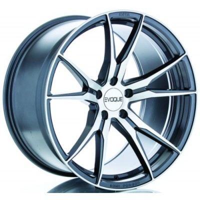 Evoque Pinnacle Machine Gunmetal wheel (20X9, 5x114.3, 70.6, 30 offset)