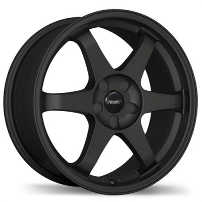 Fastwheels Hayaku Satin Black/Noir satiné, 17X7.0, 5x114.3, (offset/déport 42 ) 73