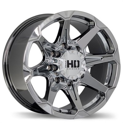 Fastwheels Detonator Chrome wheel (17X9, 8x165.1, 124.9, 20 offset)