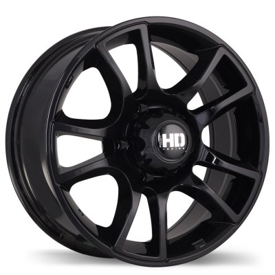 Fastwheels Hollowpoint Black wheel | 17X7.5, 6x139.7, 108.1, 20 offset