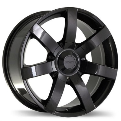 Fastwheels Slalom Gun Metal wheel (17X8, 5x127/139.7, 78.1, 20 offset)