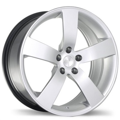 Fastwheels Samba Hyper Silver wheel (16X7, 5x114.3, 60.1, 45 offset)